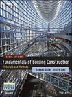 Fundamentals of Building Construction: Materials and Methods by Edward Allen, Joseph Iano (Hardback, 2013)