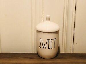 Rae-Dunn-Artisan-Collection-By-Magenta-SWEET-Sugar-Large-Letter-Ceramic-Bowl