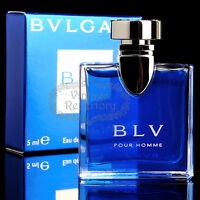 Bulgari Bvlgari Perfume Blv Pour Homme Eau De Toilette Mini Men's Cologne 0.17oz