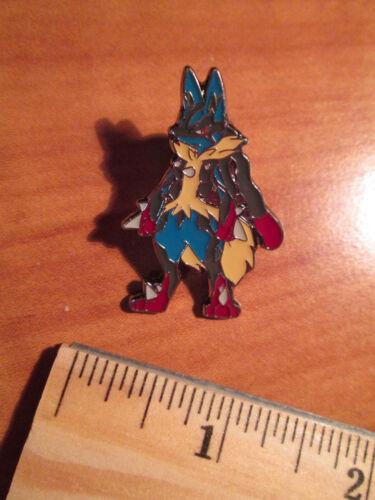 NM Mega M LUCARIO EX Metal PIN//BADGE Pokemon FURIOUS FISTS XY Blister 55-113//111