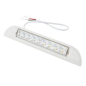 LED-Aussen-Leuchte-Led-12V-23-cm-400-Lumen-wasserdicht-Wohnwagen-amp-Wohnmobil
