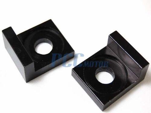 12MM BLACK CHAIN BLOCK ADJUSTER PIT BIKE HONDA XR50 CRF50 SDG SSR 107 125 M AD04