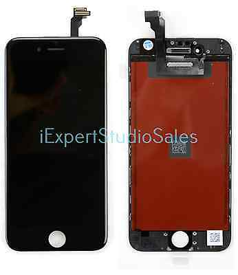 Original OEM iPhone 6 Black Digitizer LCD Front Screen Assembly for Replacement