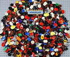 LEGO - Assorted Minifigure Hair Pieces Caps Hat Helmet Male Female Wigs Bulk Lot