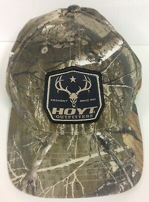 New Hoyt Archery chapeau Realtree Edge Outfitter Cap #1234297