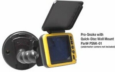 New Aqua-Vu Pro-Snake Micro Camera FLEX CLAMP W//WALL MOUNT PSNK01