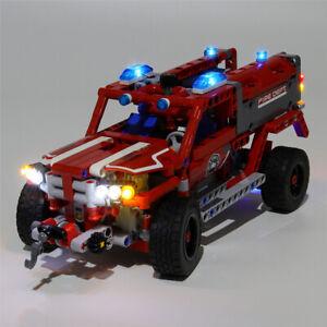LED-Licht-Set-Fuer-42075-LEGO-Technic-First-Responder-Kit-mit-Anleitung