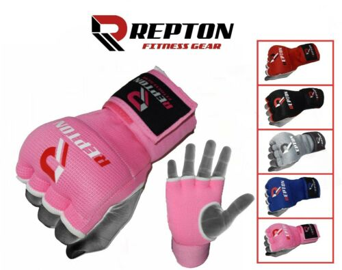 REPTON Inner Hand Wraps Gloves Boxing Fist Padded Bandages MMA Gel Strap Mitts