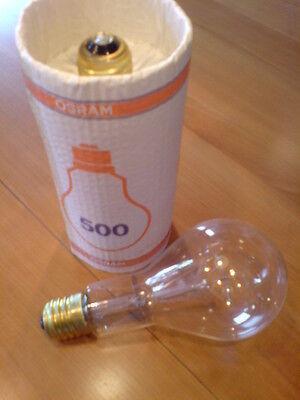 OSRAM  500 W KLAR Glühbirne E 40 Sockel