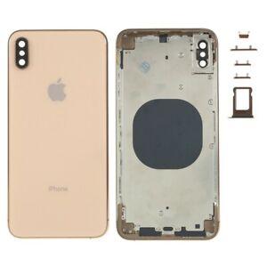 Carcasa-Chasis-Tapa-Bateria-Iphone-XS-Max-Dorado