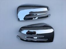 MERCEDES C CLASS W 204 CHROME ABS DOOR MIRROR COVER'S,2009 +.