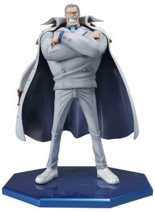 New Portrait.Of.Pirates One Piece Series NEO-DX Monkey·D·Garp figure from Japan