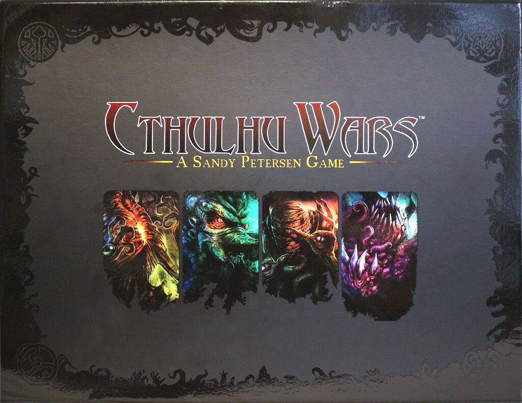 Cthulhu Wars [Board Game, Strategy, Fantasy, Dice, Petersen Games, Miniatures]