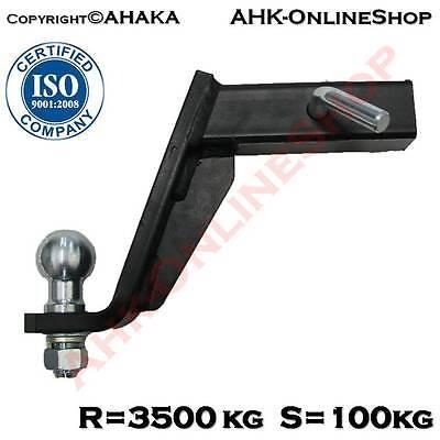 Hummer Anhängerkupplung Adapter für US-Fahrzeuge Standard 50x50mm AHK