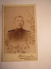Metz Diedenhofen ...- Soldat in Uniform - Regiment IR 131 - koloriert / CDV