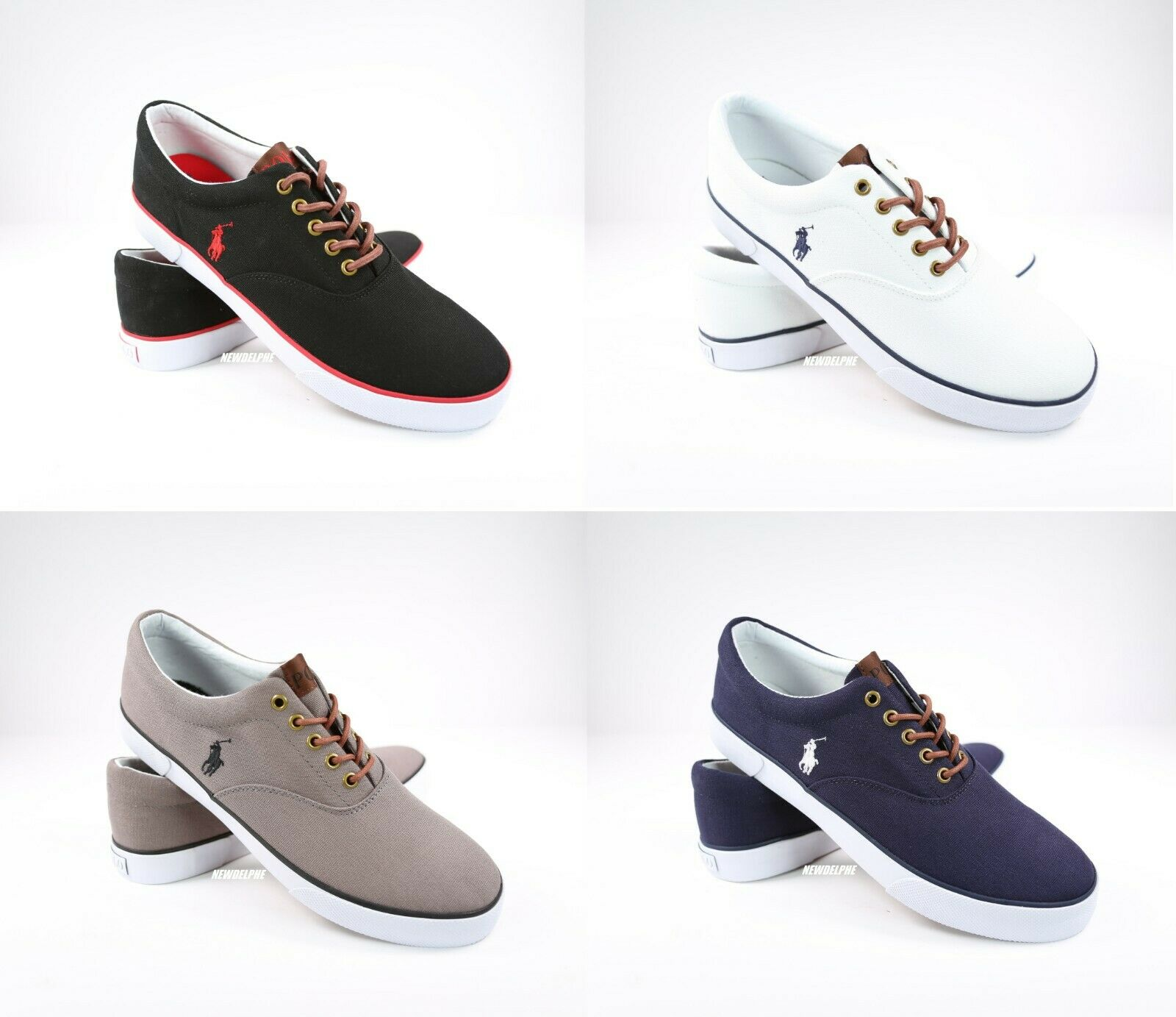 NEW IN BOX Polo Ralph Lauren Men FORESTMONT   HARVEY Sneakers Casual shoes Pony