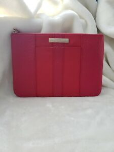 38594daec4 COLE HAAN Womens Large Pouch Clutch Wallet Cosmetic Bag Pink/Fuchsia ...