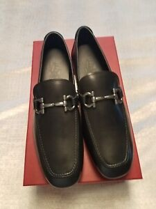 color brilliancy new appearance differently Details about Salvatore Ferragamo Mens Shoes Size 8.5 EE Nowel Style Nib!!