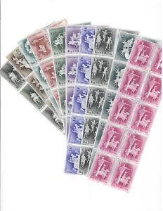 DEALER STOCK SAN MARINO MNH 1963 Medieval tournaments 10v 10 SETS s32708