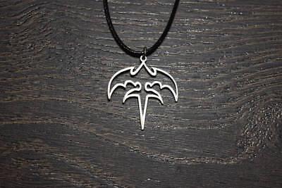 Queensryche tri-ryche triryche necklace logo symbol pin patch charm emblen shirt