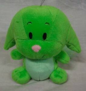 "Neopets NICE BRIGHT GREEN KACHEEK 6"" Plush STUFFED ANIMAL Toy"