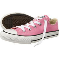 Converse Unisex Pink Canvas Youth Low Ct All Star Ox - (3j238c) All Size
