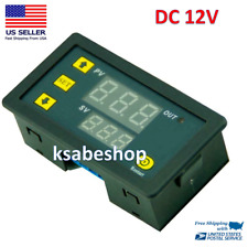 Dc 12v Timer Cycling Module Digital Display Time Delay Relay Timing Switch