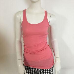 73fa6eb45ac6 Image is loading Miss-Selfridge-Ladies-Pink-Jersey-Stretch-Ribbed-Wrestler-