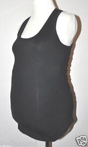 Ingrid-amp-Isabel-Be-Maternity-Top-shirt-workout-yoga-bra-running-Black-XS-S-M-L