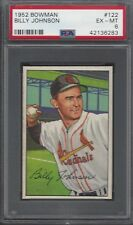 1952 Bowman Billy Johnson #122 Baseball Card