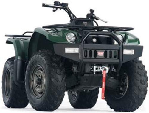 75221 Warn ATV Front Bumper for 2007-2014 Yamaha YFM700 Grizzly FI 4x4 Auto