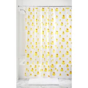 Image Is Loading Bath Ducks Vinyl Shower Curtain Rubber Ducky Waterproof