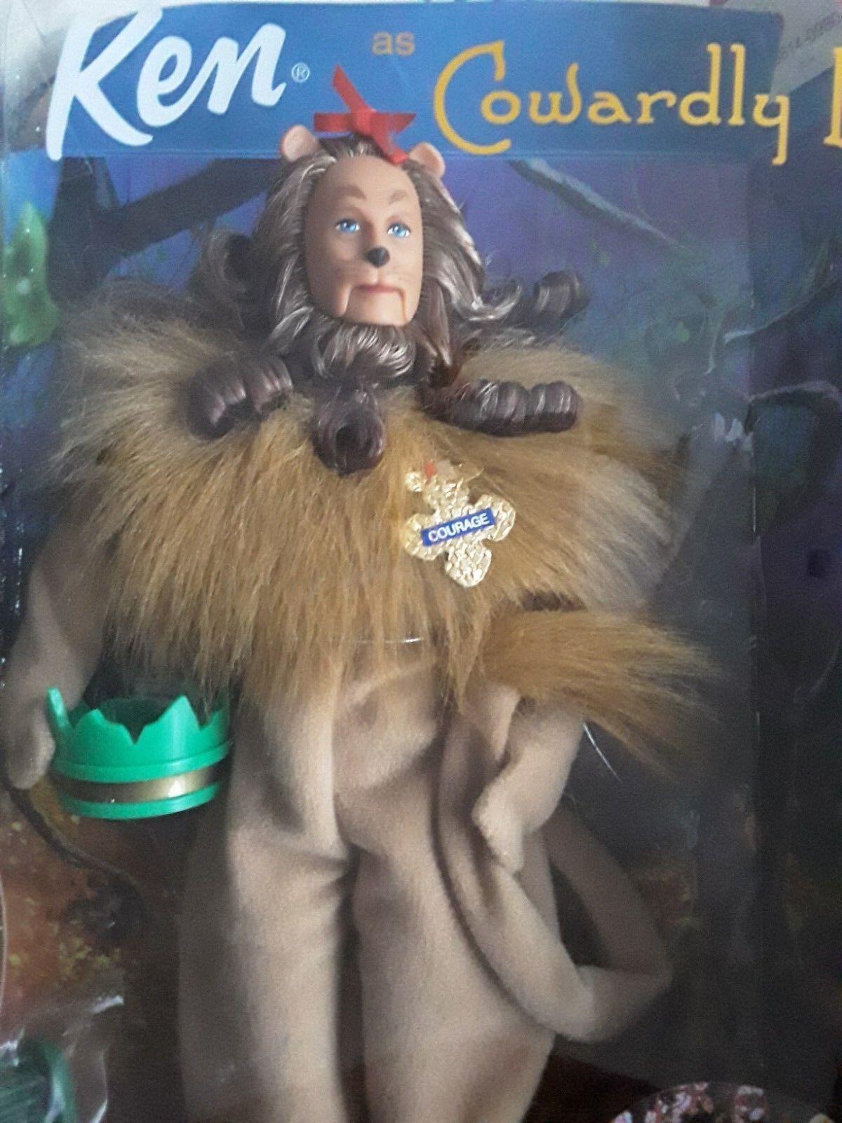 Barbie Wizard Of Oz.  Magicien d'Oz  Ken  The Cowardly Lion  Collector Mattel