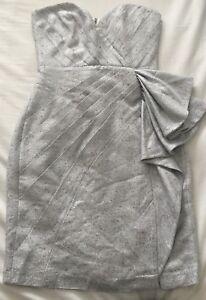 BrandNew-Thurley-Silver-Dress-Size-8