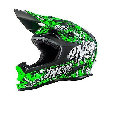 Leale O 'neal 7 Series Mx Casco Evo Menace Neon Verde Xxl Motocross Cross 712 Advanced Oneal-