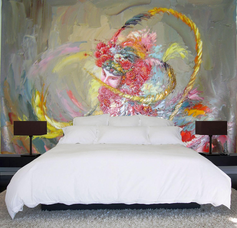 3D Drama Oil Painting Paper Wall Print Decal Wall Wall Murals AJ WALLPAPER GB