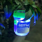 Mosquito Trap Lamp Solar Powered LED Light Insect Zapper Killer Repeller Lamp