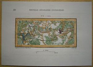 1880-Perron-map-VILNIUS-REGION-LITHUANIA-88