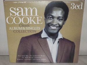 3-CD-SAM-COOKE-CLASSIC-ALBUM-amp-SINGLES