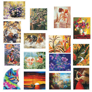 Image Is Loading Diy Paint By Numbers Kit Canvas Oil Painting
