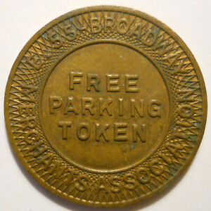 E-55-Broadway-Merchants-Assoc-Cleveland-Ohio-parking-token-OH3175K