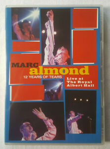 Marc-Almond-12-Years-of-Tears-Live-at-the-Royal-Albert-Hall-Reg-2-3-4-5-NTSC-DVD