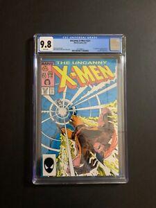 X-MEN #221 MARVEL (W/P) (9/87) CGC 9.8 1ST APP. MR. SINISTER WOLVERINE NEW CASE!