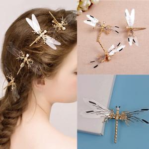 Dragonfly-Hair-Clip-Pearl-Bride-Headdress-Hairpin-Bridal-Wedding-Jewelry-Novelty