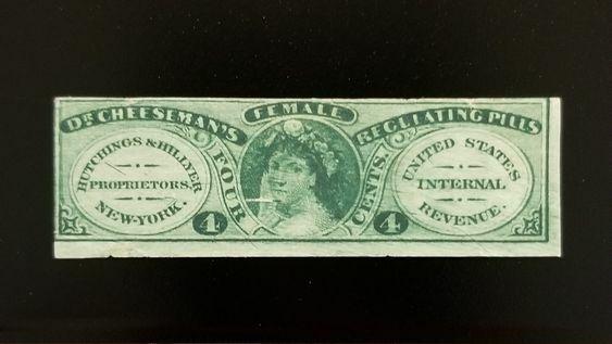 Hutchings & Hillyer 4c U.S. Internal Revenue RS141b Pri
