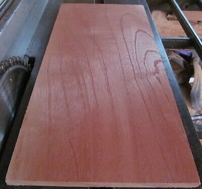 "Spanish Cedar Lumber  ~  6  at  7/"" X 48/"" X 1//4/""  planed 2 sides"