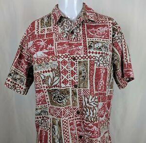 Bishop-St-Hawaiian-Aloha-Shirt-Batik-Outrigger-Turtle-Hula-Honu-Palm-Tree-Surfer