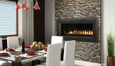 superior gas fireplace double sided item superiorvrl4543 gas burning fireplacefree shipping superiorvrl4543 superior vrl4543 seethru linear vent fireplace w remote ebay