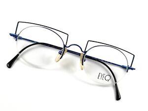 FLAIR-EyeQ-Brille-800-788-Crazy-Small-Reading-Glasses-Round-Half-Rim-Eye-Frame