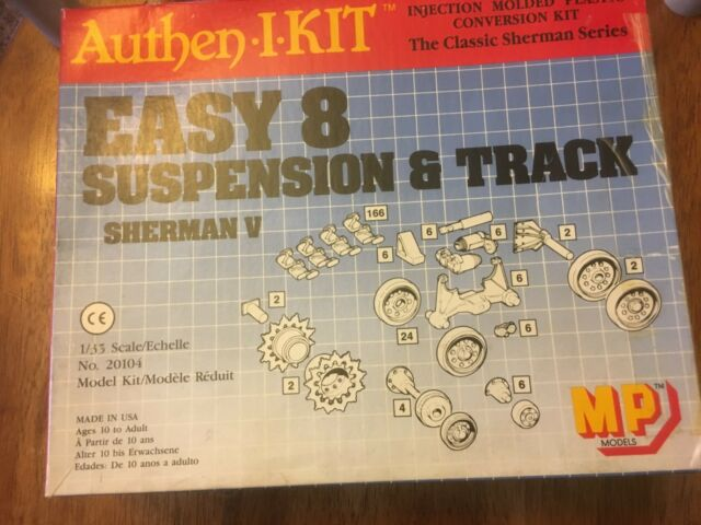 tank Sherman V east 8 suspension & track conversion 1/35 #20104 model kit in box